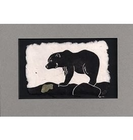 KB's Handmade Creations Brown Bear (framed)