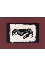 KB's Handmade Creations Dungeness Crab (framed) | Karen Beason