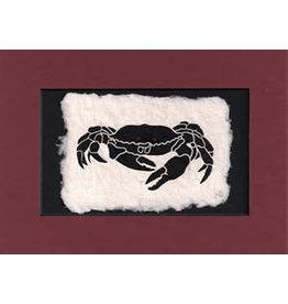KB's Handmade Creations Dungeness Crab (framed)