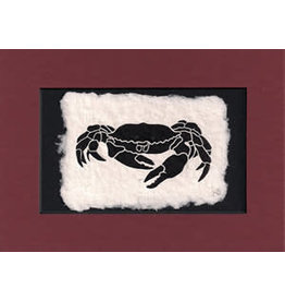"KB's Handmade Creations Karen Beason ""Dungeness Crab"" framed art print"
