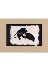 """KB's Handmade Creations Karen Beason """"Eagle"""" framed art print"""