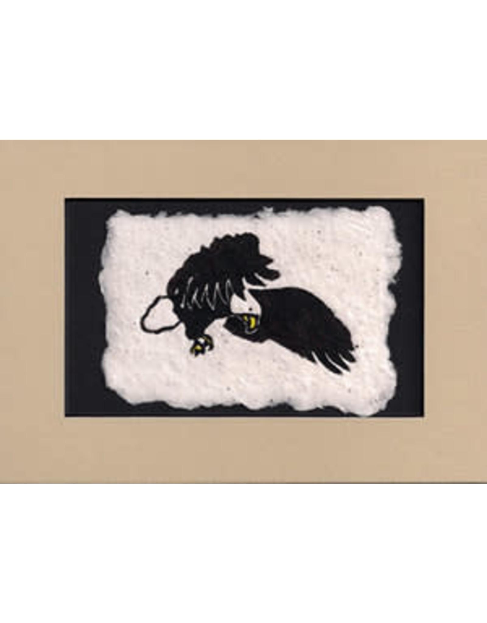 KB's Handmade Creations Eagle (framed)   Karen Beason