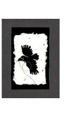 KB's Handmade Creations Flying Raven (framed) | Karen Beason