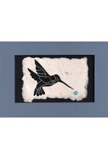 KB's Handmade Creations Hummingbird (framed) | Karen Beason