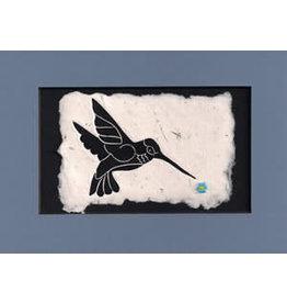 KB's Handmade Creations Hummingbird (framed)