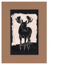 """KB's Handmade Creations Karen Beason """"Moose"""" framed art print"""
