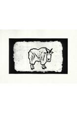 KB's Handmade Creations Mountain Goat (framed) | Karen Beason