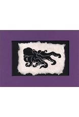 "KB's Handmade Creations Karen Beason ""Octopus"" framed art print"