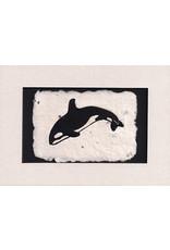 KB's Handmade Creations Orca (framed) | Karen Beason