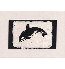 """KB's Handmade Creations Karen Beason """"Orca"""" framed art print"""
