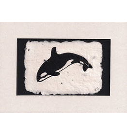 KB's Handmade Creations Orca (framed)