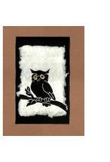 KB's Handmade Creations Great Horned Owl (framed) | Karen Beason