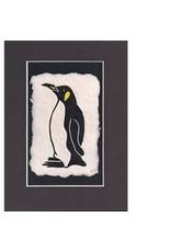 KB's Handmade Creations Penguin (framed) | Karen Beason