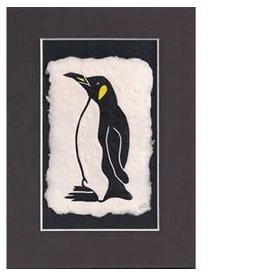 """KB's Handmade Creations Karen Beason """"Penguin"""" framed art print"""