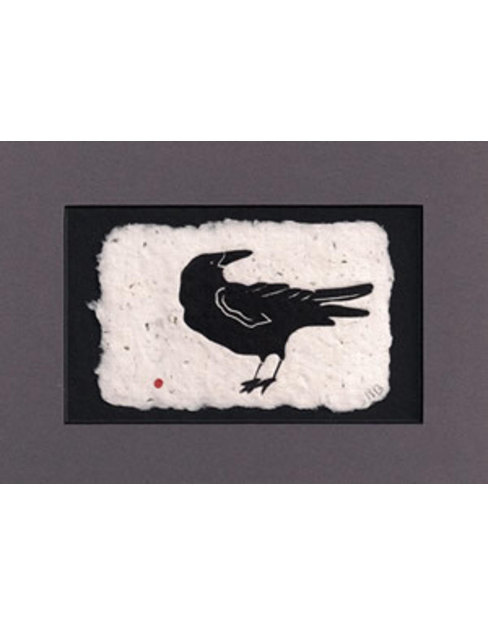 """KB's Handmade Creations Karen Beason """"Raven"""" framed art print"""