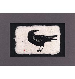 KB's Handmade Creations Raven (framed)