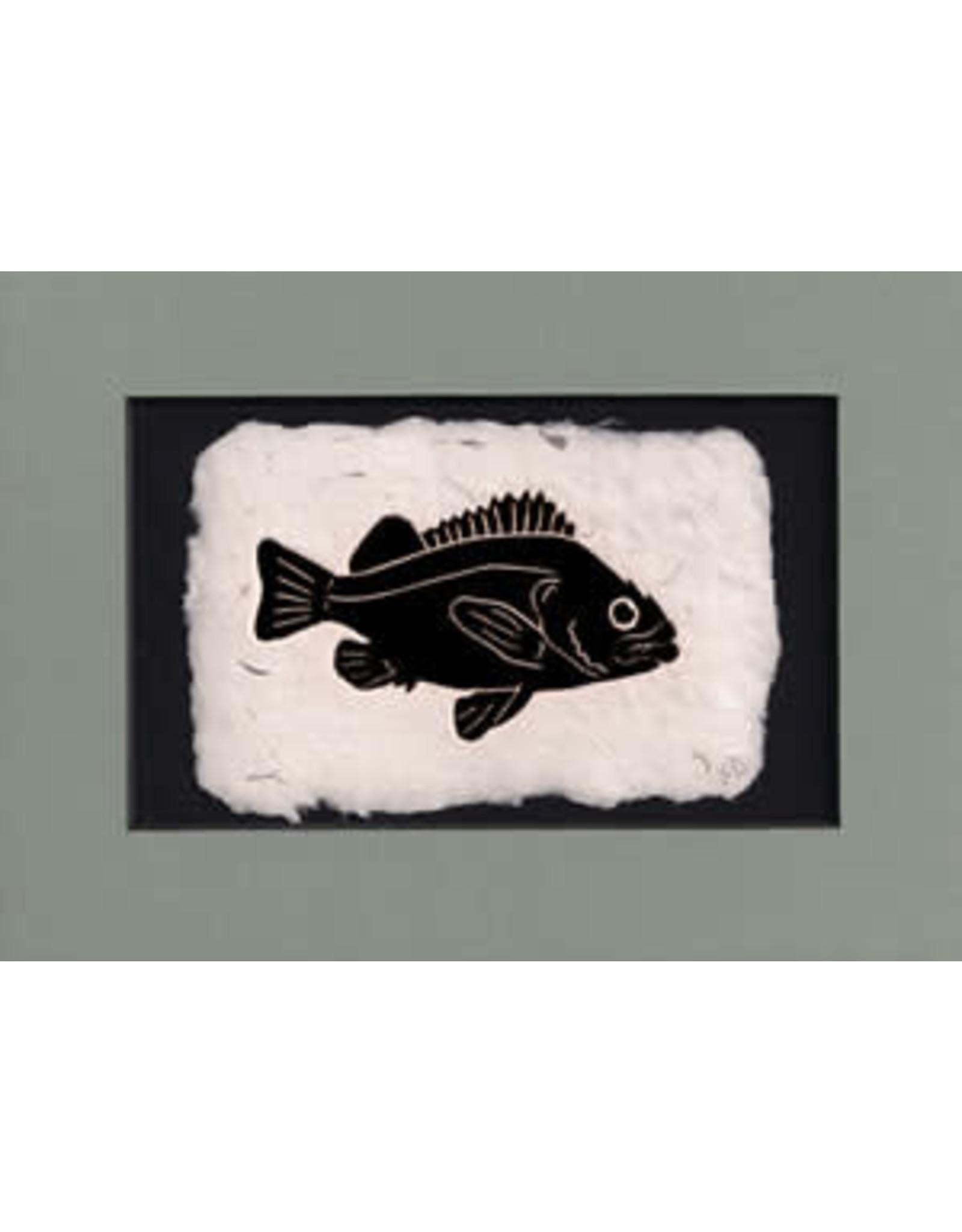 KB's Handmade Creations Rockfish (framed) | Karen Beason
