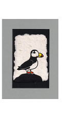 "KB's Handmade Creations Karen Beason ""Puffin"" framed art print"