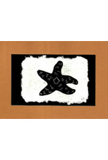 """KB's Handmade Creations Karen Beason """"Pisaster Sea Star"""" framed art print"""