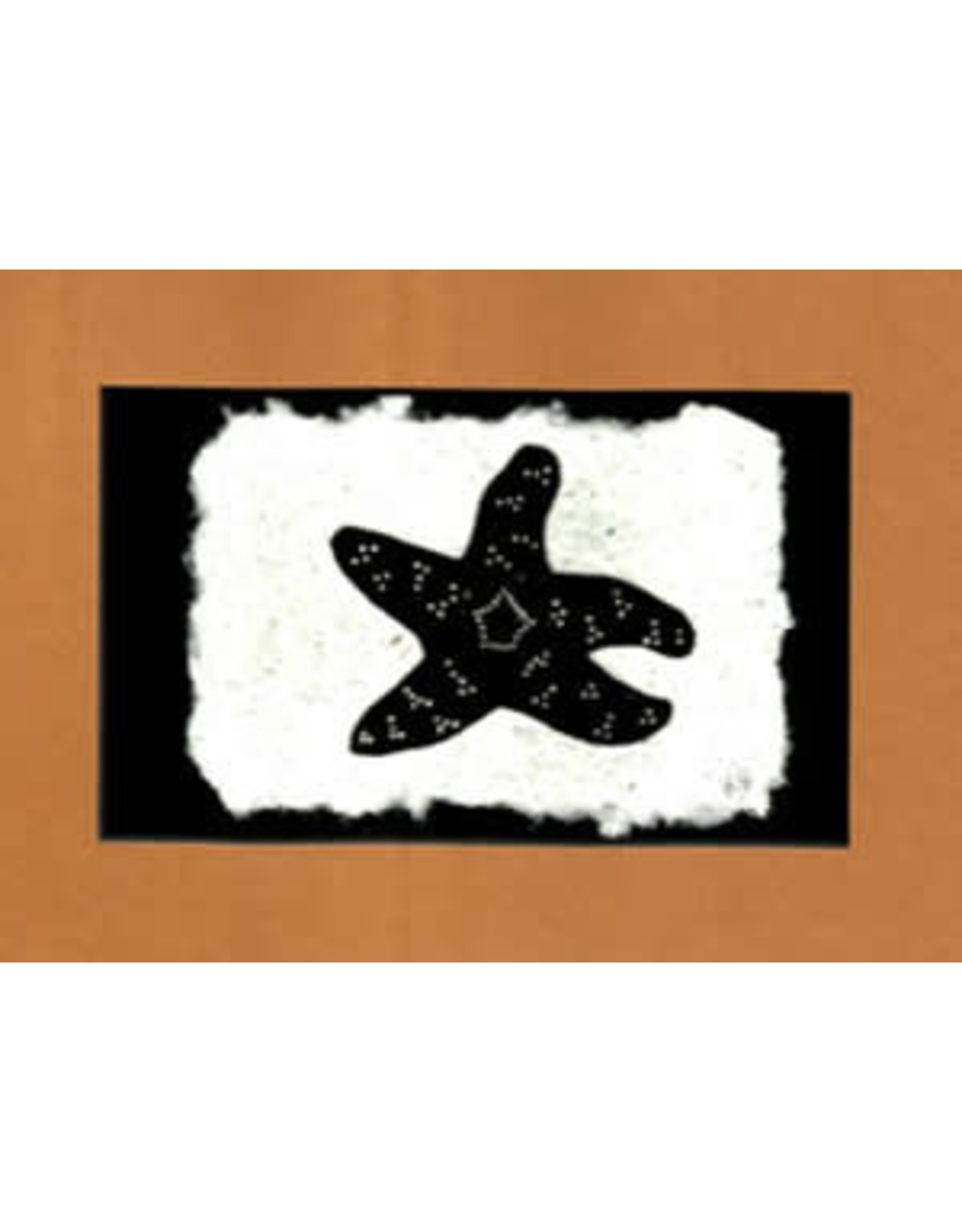 KB's Handmade Creations Pisaster Sea Star (framed) | Karen Beason