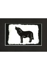 KB's Handmade Creations Black Wolf (framed) | Karen Beason