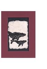 "KB's Handmade Creations Karen Beason ""Humpback Whales"" art print"