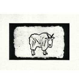"KB's Handmade Creations Karen Beason ""Mountain Goat"" art print"
