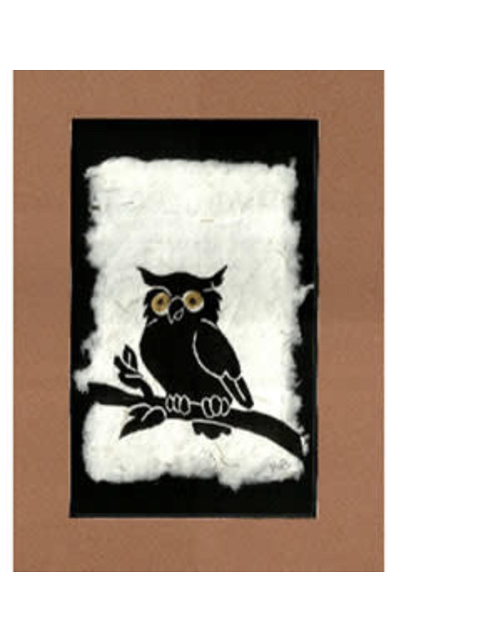 KB's Handmade Creations Great Horned Owl | Karen Beason