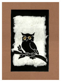 "KB's Handmade Creations Karen Beason ""Great Horned Owl"" art print"