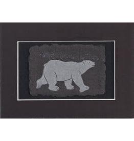 "KB's Handmade Creations Karen Beason ""Polar Bear"" art print"