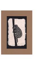 "KB's Handmade Creations Karen Beason ""Porcupine"" art print"