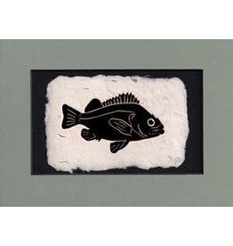 "KB's Handmade Creations Karen Beason ""Rockfish"" art print"