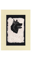 "KB's Handmade Creations Karen Beason ""Sled Dog"" art print"