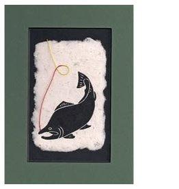 "KB's Handmade Creations Karen Beason ""Sockeye Salmon"" art print"