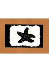 "KB's Handmade Creations Karen Beason ""Pisaster Sea Star"" art print"