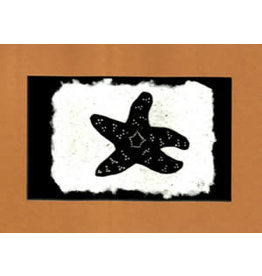 "KB's Handmade Creations Karen Beason ""Pisaster Sea Star"" art print"