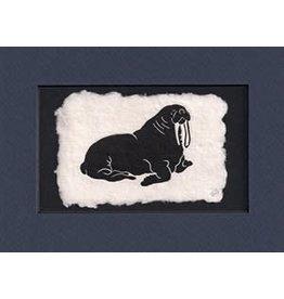 """KB's Handmade Creations Karen Beason """"Walrus"""" art print"""