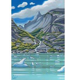 """Grant Pecoff Grant Pecoff """"Infinite Waterfalls in the Fjords of Alaska"""""""