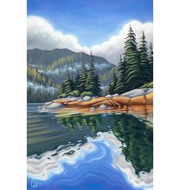 "Grant Pecoff Grant Pecoff ""Reflections of the Forest"""