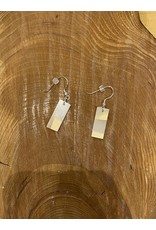 Timber and Tides Timber & Tides Earrings White Yellow Cedar I