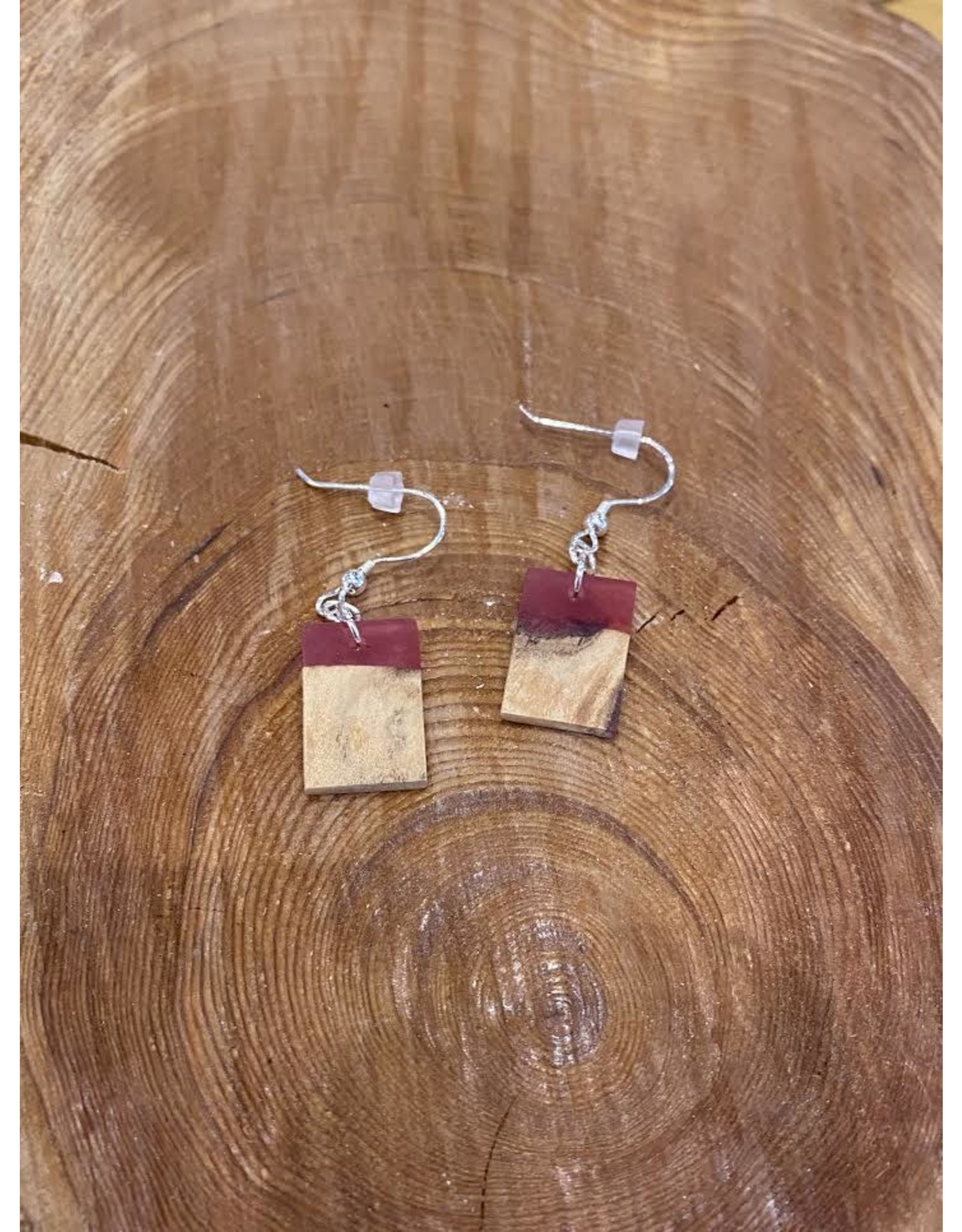 Timber & Tides Timber & Tides Earrings Red Driftwood