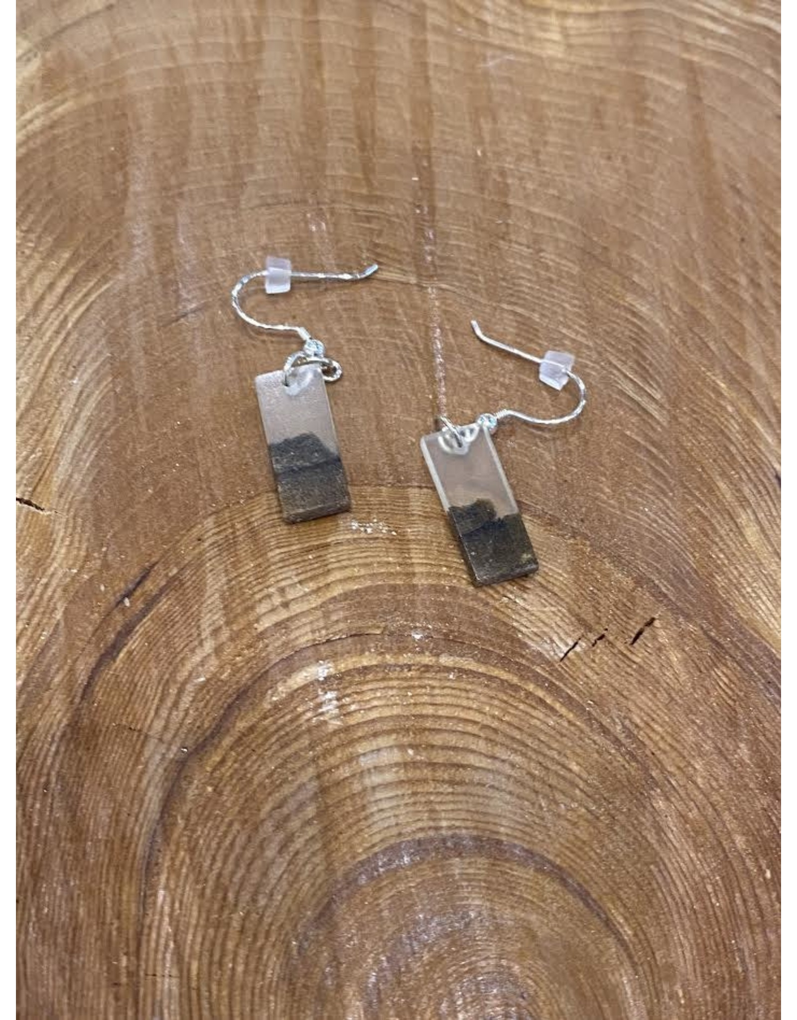 Timber and Tides Timber & Tides Earrings White Driftwood I