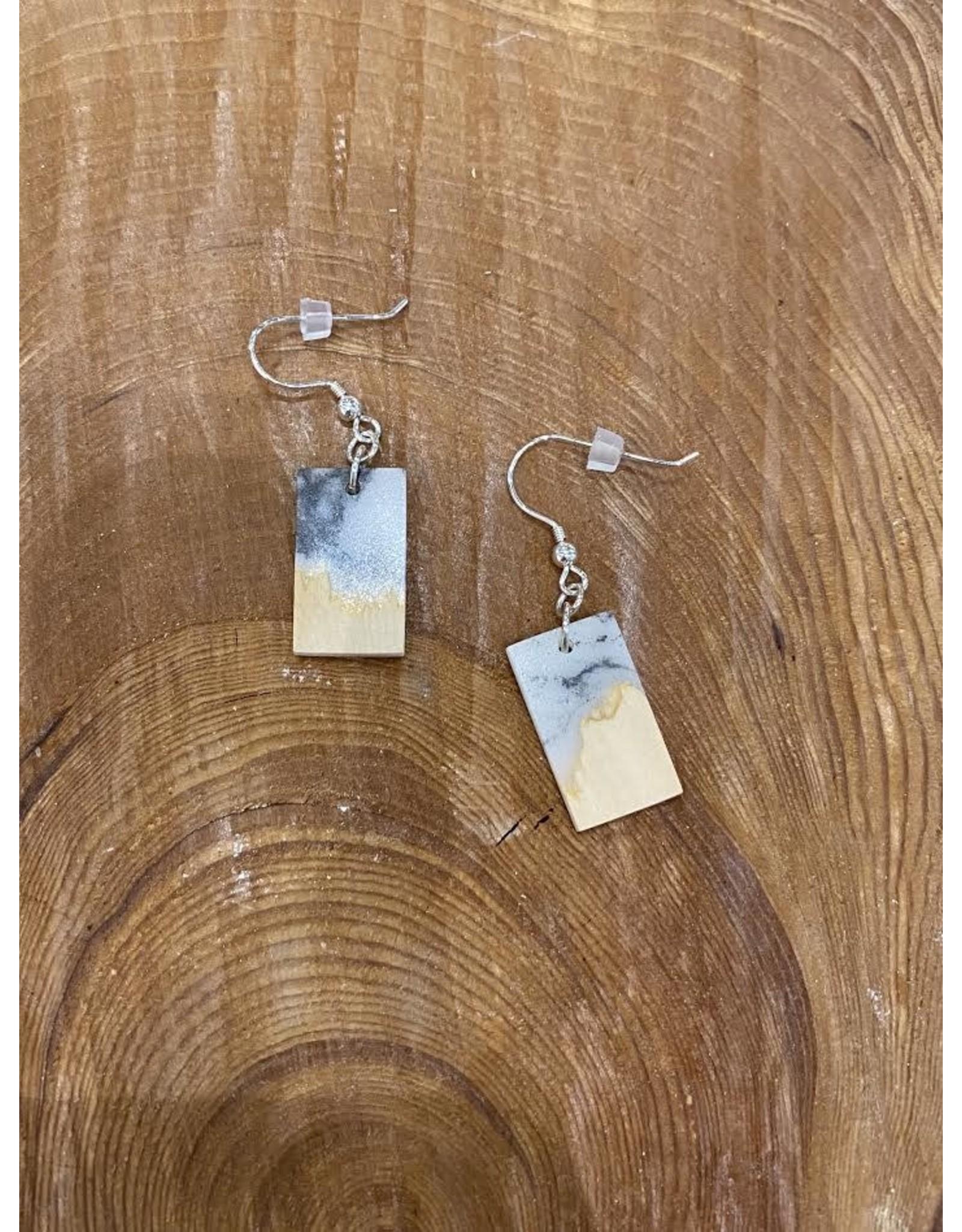 Timber & Tides Timber & Tides Earrings Multi Yellow Cedar I