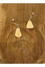 Timber & Tides Timber & Tides Earrings Pink Yellow Cedar
