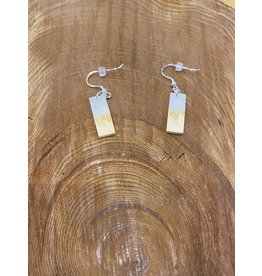 Timber & Tides Timber & Tides Earrings White Yellow Cedar II