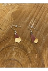 Timber and Tides Timber & Tides Earrings Red Yellow Cedar I
