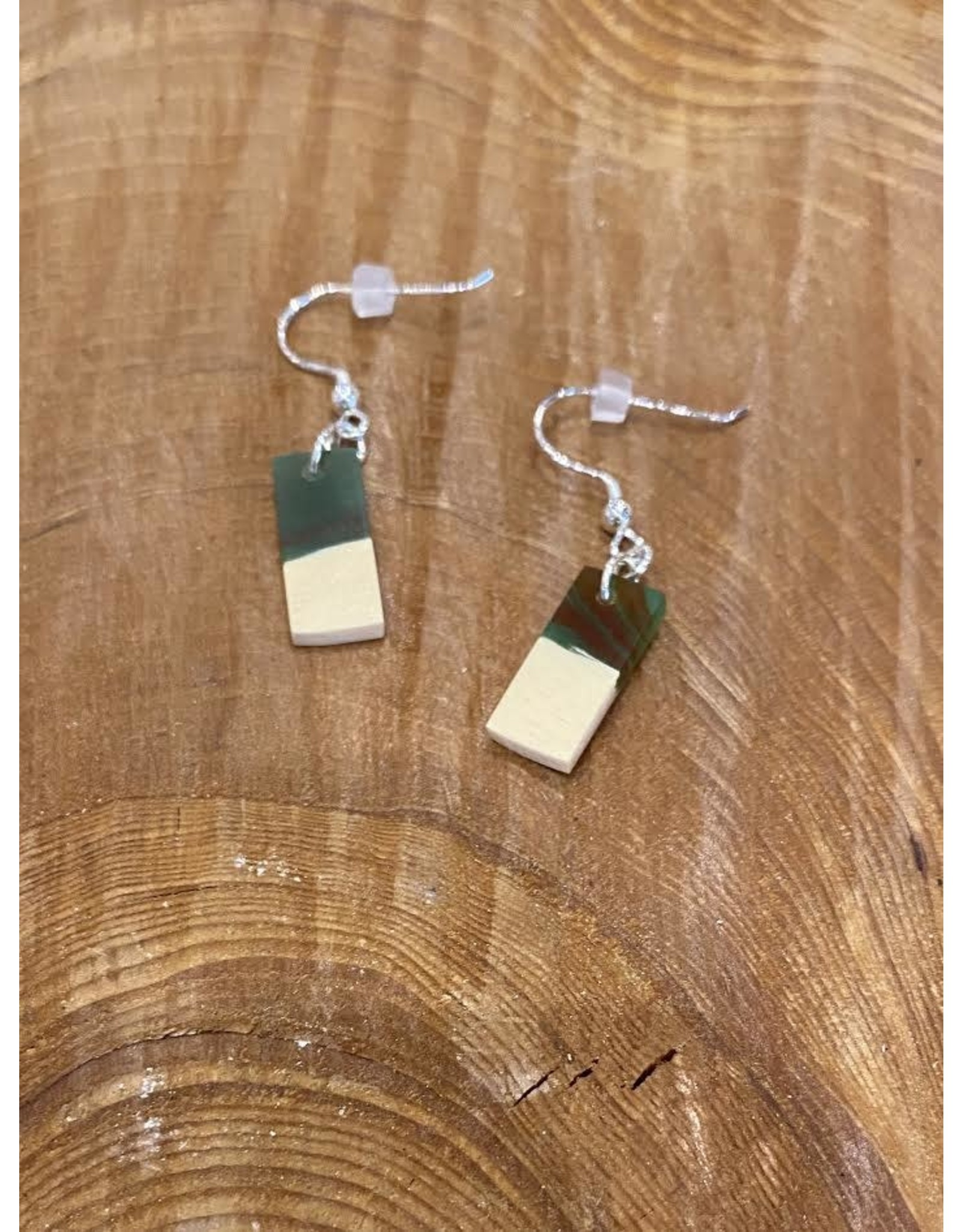 Timber and Tides Timber & Tides Earrings Multi Yellow Cedar II