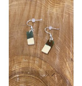 Timber & Tides Timber & Tides Earrings Multi Yellow Cedar II