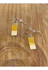 Timber & Tides Timber & Tides Earrings Orange Yellow Cedar II