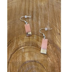 Timber & Tides Timber & Tides Earrings Pink Driftwood I